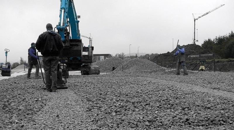 Дорожное строительство и пеностеклянный щебень